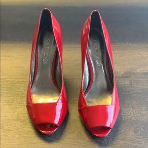 ALDO (red) heels